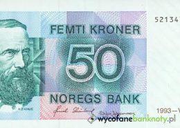 50 koron norweskich wycofanych z obiegu