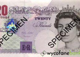 20 funtów brytyjskich