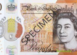 10 funtów brytyjskich